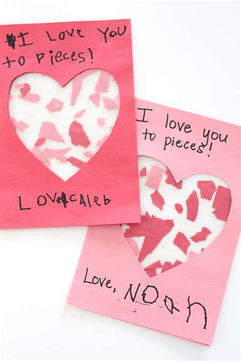 love   pieces craft valentines day activities