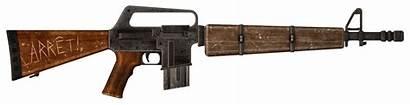 Rifle Fallout Survivalist Vegas Gun Ar Inspired