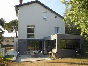 les 25 meilleures idees de la categorie extension maison With couleur facade maison contemporaine 9 maison moderne grise