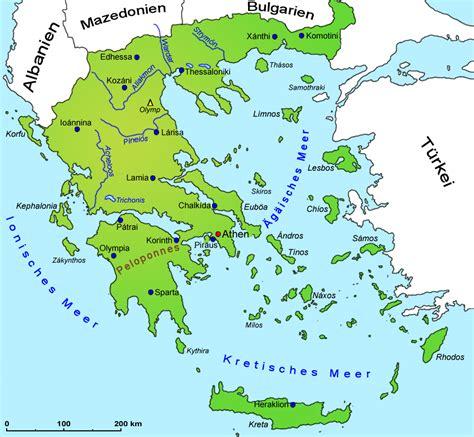Grenze Griechenland Türkei Karte