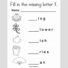 Fill In The Missing Letter F Coloring Page  Twisty Noodle  Letter Coloring Pages, Worksheets