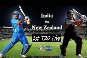 India Vs New Zealand 1st T20 Live Streaming on Star Cricket