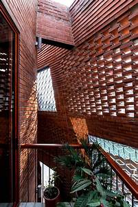 This Vietnamese Townhouse Is An Urban Brick Cave That