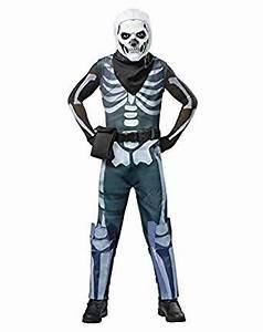 Amazon.com Spirit Halloween Kids Fortnite Skull Trooper Costume Clothing