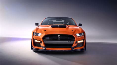Wallpaper 2020 Ford Mustang Shelby Gt500 by 7680x4320 2020 Ford Mustang Shelby Gt500 Front 5k 8k Hd 4k