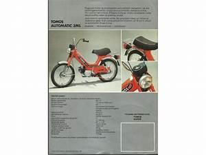 Slovenija Koper Flajer Tomos Automatik 3ml Motor Moped
