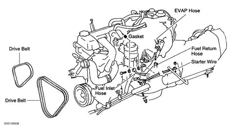 1995 Toyotum Camry Part Diagram by 1995 Toyota Camry Timing Belt Diagram Imageresizertool