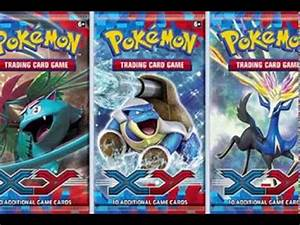 Pokémon X and Y English TCG Set Booster Packs and Scans ...