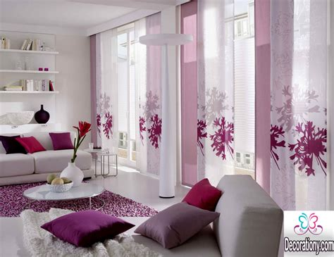 25 Modern Curtains Designs For More Elegant Look 7 Foot Shower Curtain Rod Best Ideas For Double Windows Gray And White Stripe Curtains Behind The Bamboo Drapes Unitized Wall Systems Corner Tub
