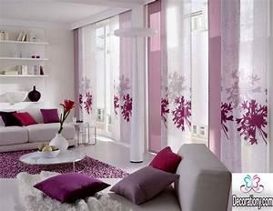 25 modern curtains designs for more elegant look for Modern curtains for living room 2018