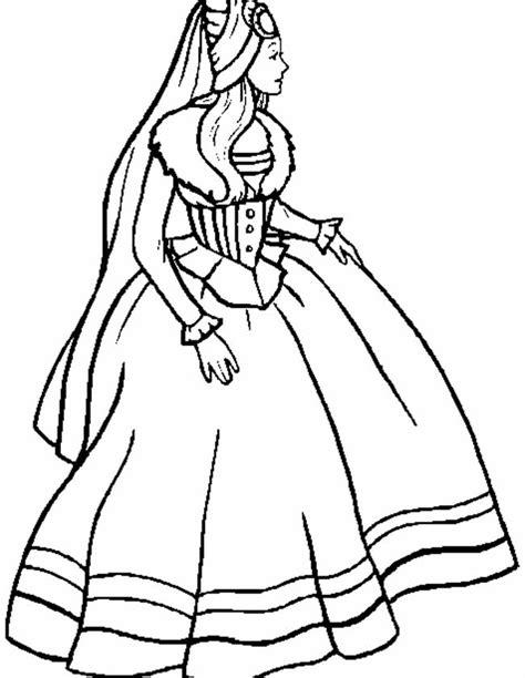 Gratis Kleurplaat Prinses by Kleuren Nu Sprookjes Prinses Kleurplaten