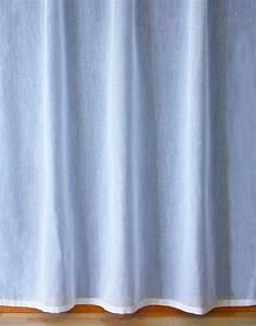 Voilage Lin Blanc : voilage en lin au m tre ~ Teatrodelosmanantiales.com Idées de Décoration