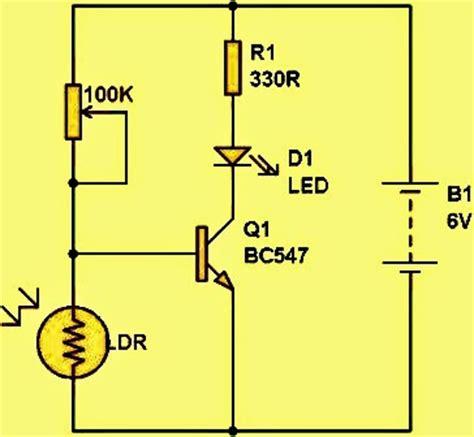 photodiode light detector circuit photodiode detector circuit light photodiode free engine