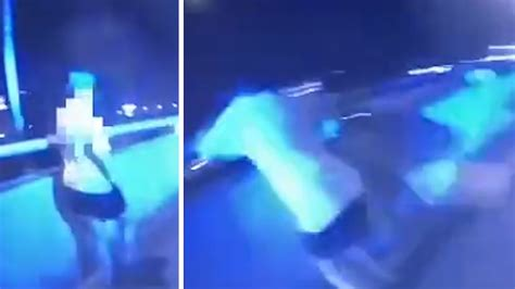 Florida Cop Hailed Hero, Saves Woman From Jumping Off Overpass