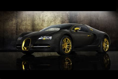 Golden Bugatti Veyron by Bugatti Veyron Sport Gold Engine Information