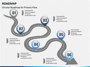 Roadmap powerpoint template sketchbubble for Road map powerpoint template free