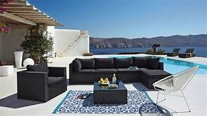 Meuble Pour Terrasse : salon de jardin design meubles d 39 ext rieur et astuces d ~ Premium-room.com Idées de Décoration