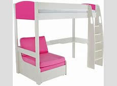 High Sleepers With Desk And Futon high sleeper with desk