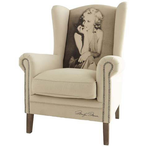 fauteuil marilyn maisons du monde