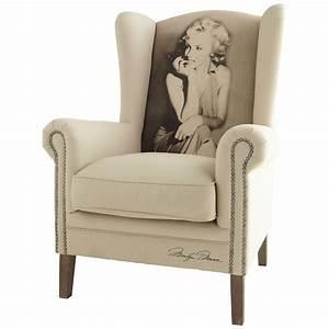 Fauteuil Maison Du Monde : fauteuil marilyn celebrity maisons du monde ~ Teatrodelosmanantiales.com Idées de Décoration