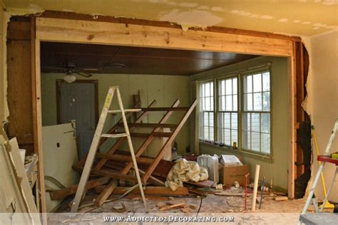 how to remove a load bearing interior wall the victory is mine load bearing wall removed load