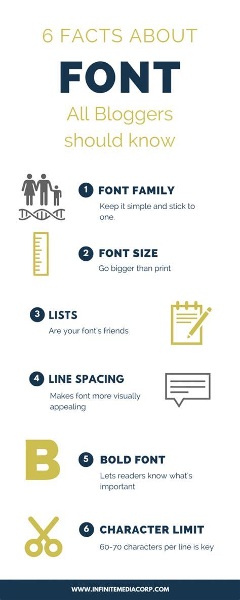 font size matters infinite media corp