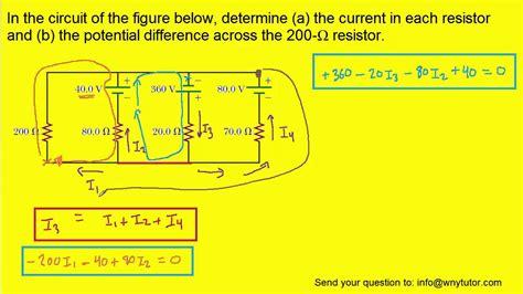 The Circuit Figure Below Determine Current