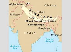 Himalaya World Map | auto-kfz.info