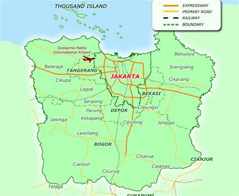 travel  jakarta jabodetabek travelsmapscom
