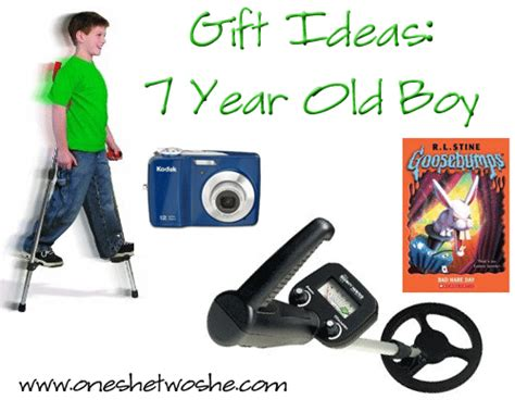 Gift Ideas 7 Year Old Boy  Or So She Says