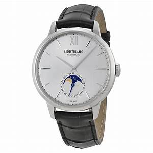 Montblanc Meisterstuck Heritage Moonstruck Silver Dial ...