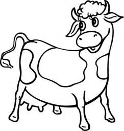 Coloriage Vache Imprimer