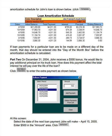 29+ Amortization Schedule Templates   Free & Premium Templates