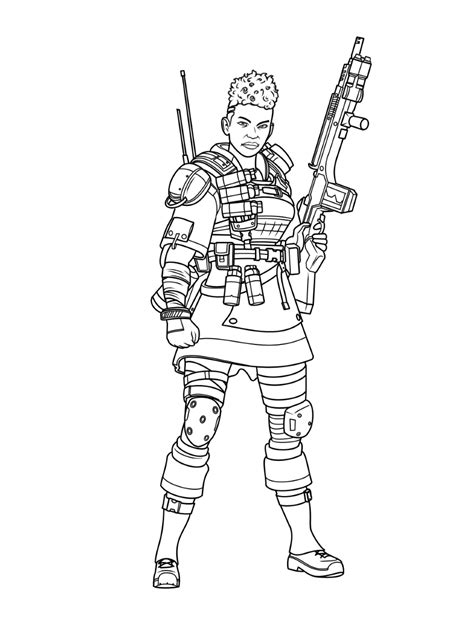 bangalore apex legends coloring play  coloring game