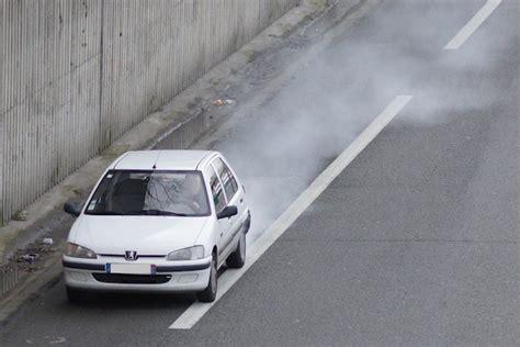 fume blanche l chappement condensation ou vrai problme