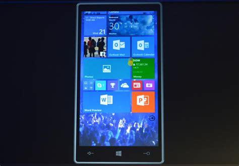windows phone 2015 microsoft stellt windows 10 f 252 r smartphones vor erste