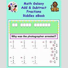 New 54 Fraction Riddle Worksheets  Fraction Worksheet