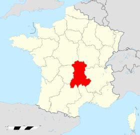 Carte Nouveau Monde Conseil Régional Auvergne by Auvergne Wikip 233 Dia