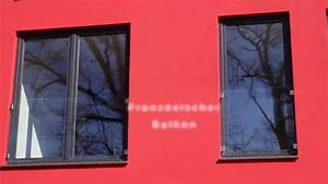 franzosischer balkon mit glas und glasklemmen youtube With französischer balkon mit sonnenschirm kettler