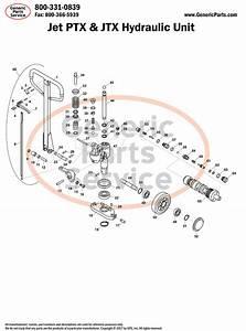 Pallet Jack Pros Recommend  Jet Jtx Manual Pallet Jack Parts