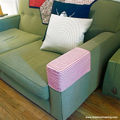armrest covers sofa tutorial simple fabric armrest covers handled scissors
