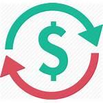 Refund Icon Circle Exchange Economy Money Connected