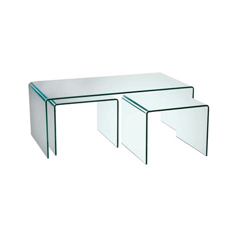 coffee tables glass coffee tables puro glass coffee table set dwell