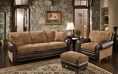 Furniture Wall Background Couch Living Sofa Brown