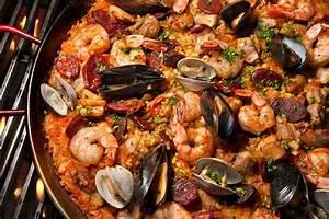 Grilled Paella Recipe CHOW com