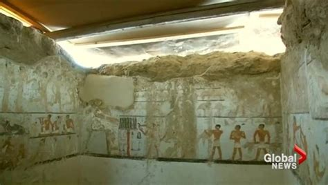 Egyptian Archaeologists Discover 4,400-year-old Tomb Just