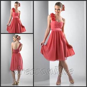 BMD025 Discount Hot Sale A Line Sweetheart One Shoulder ...
