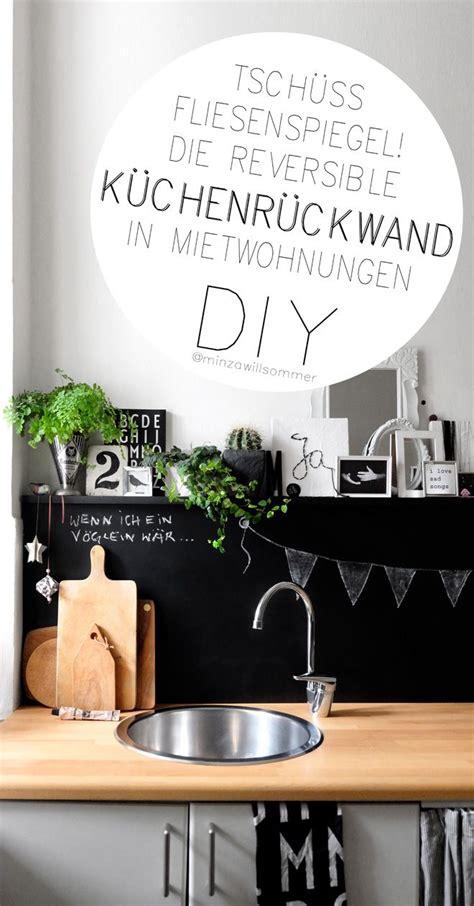 Fliesenspiegel Küche Verschönern by Die Reversible K 252 Chenr 252 Ckwand Diy Deko Decor