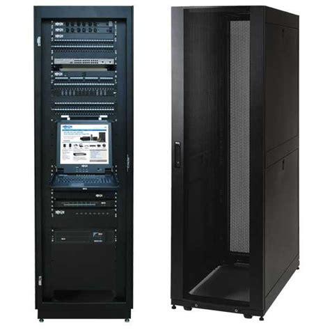 42u server rack tripp lite 42u standard depth server rack