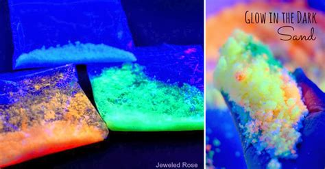 Biggest Lava Lamp In The World by How To Make Glow In The Dark Sand Diy Amp Crafts Handimania